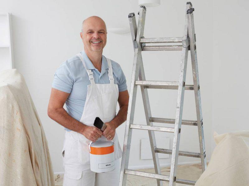 Bestil 3 tilbud hvis du vil have malerarbejde udført billigt