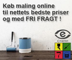 Køb billig maling online