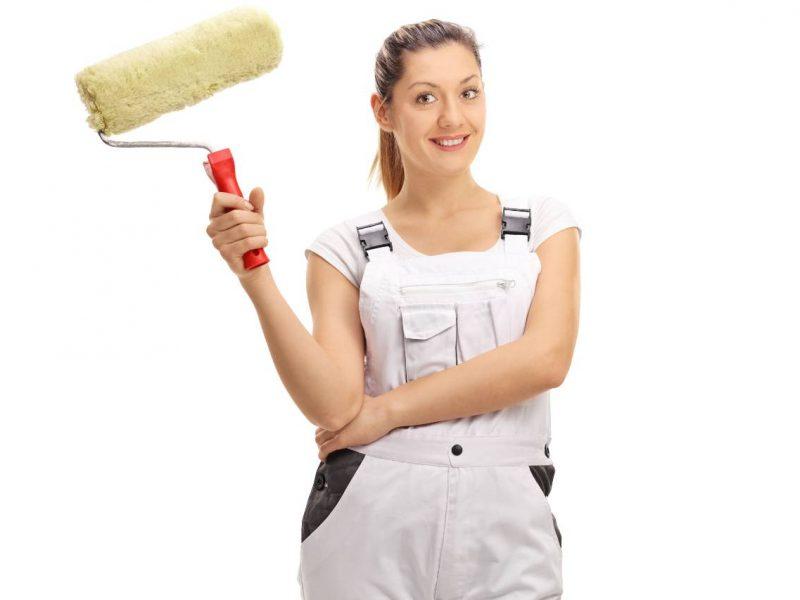 Kvindelig malermester